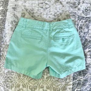 J. Crew Shorts - J.Crew light teal chino shorts